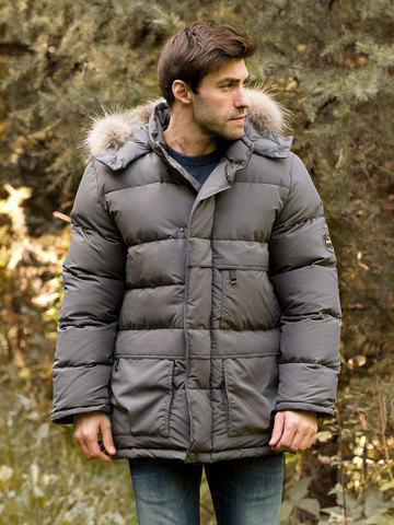 Joutsen пуховик Arctic Star Fur серебро