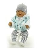 Большой подарочный комплект - зимний медведь - На кукле. Одежда для кукол, пупсов и мягких игрушек.