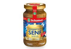 Хрен с горчицей сладкий по-баварски Schamel, 140мл