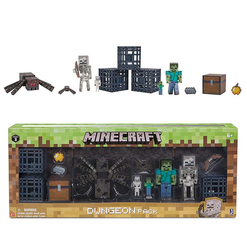 Набор фигурок Minecraft Dungeon Подземелье 6 фигурок