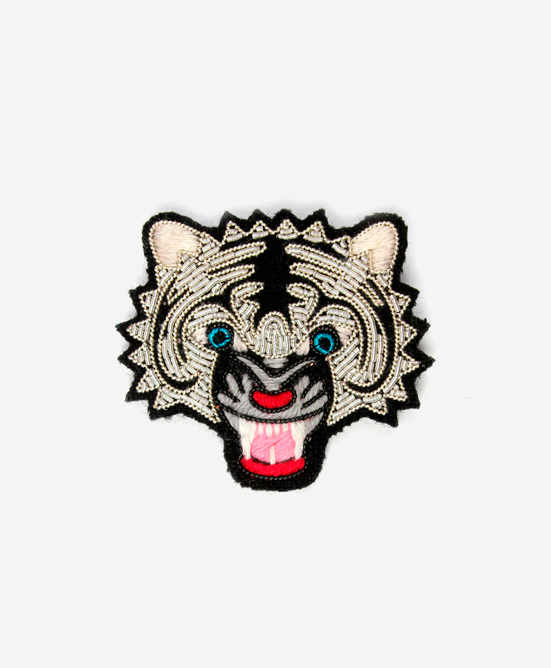 Брошь Tiger Head