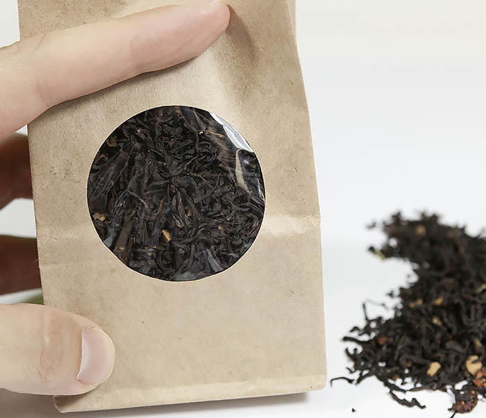 TEA-AR114 Черный ароматизированный чай «Земляника со Сливками» (50 гр) фото 04
