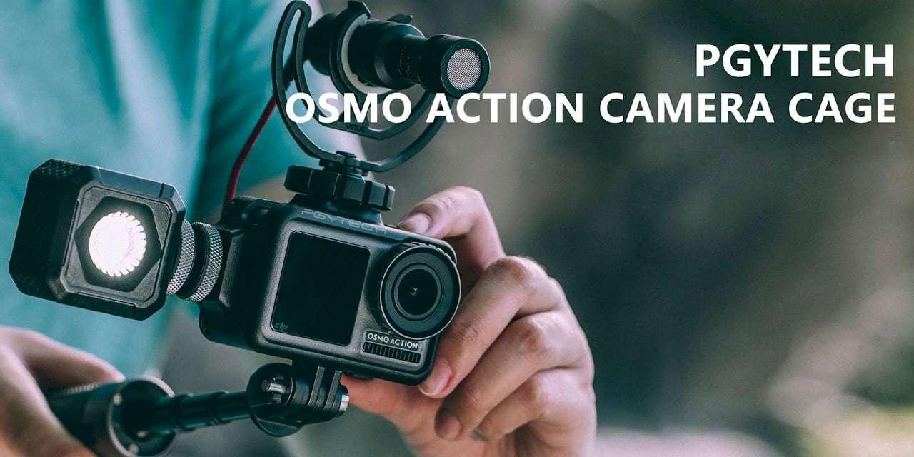 Клетка PGYTECH OSMO Action Camera Cage P-11B-010 с аксессуарами