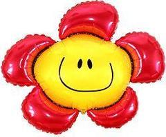 Цветочек (солнечная улыбка) красный F 41