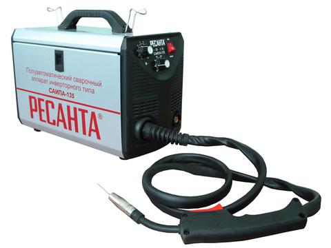 Полуавтоматические сварочные аппараты инверторного типа  Ресанта САИПА-135