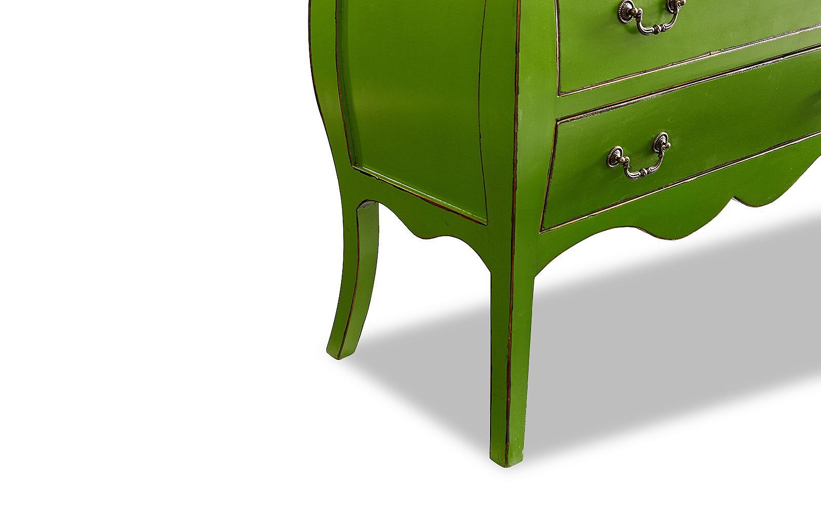 Комод горизонтальный FL-4022 зеленый