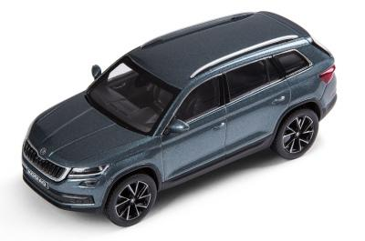 Модель автомобиля Skoda Kodiaq, Масштаб 1:43, Metal Grey arte lamp a8560sp 8cl