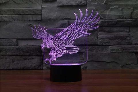3D светильник Орёл