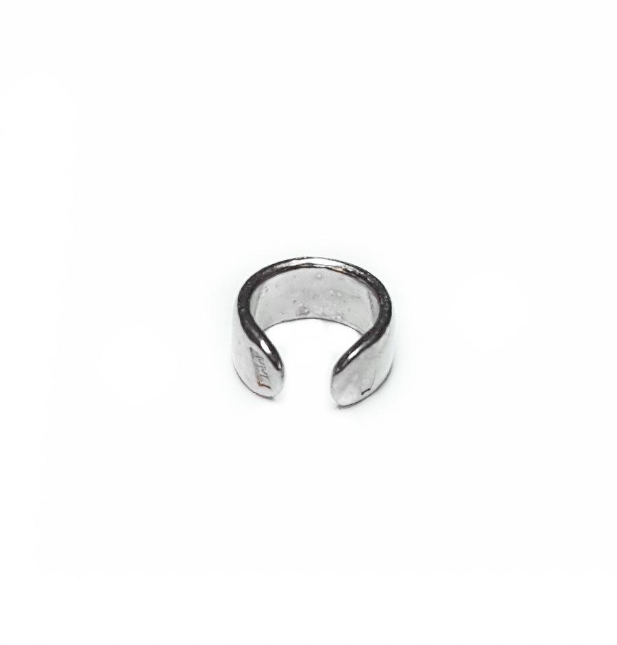 Flat Cuff, sterling silver, mini size