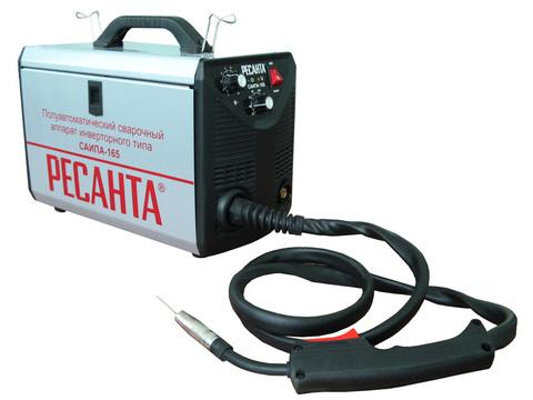 Полуавтоматические сварочные аппараты инверторного типа Ресанта САИПА-165