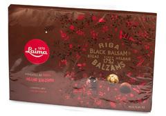 Конфеты в темном шоколаде с Рижским черным бальзамом, 135 г