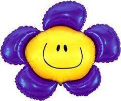 Цветочек (солнечная улыбка) фиолетовый F 41