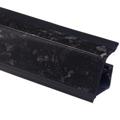 Плинтус Rehau  118 Гранит черный, 4,2 м