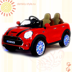 """Двухместный электромобиль """"Mini Cooper Luxury"""" (SX1638)"""