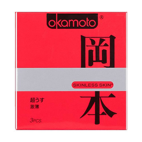 Презервативы OKAMOTO Skinless Skin Super Thin No.3