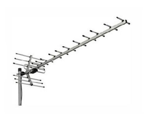ТВ антенна активная 5V Locus Меридиан-12AF Turbo (L025.12DT) цифровая DVB-T2 на 50-80 км