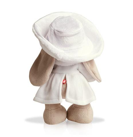 Зайка Ми в белом пальто (большая)