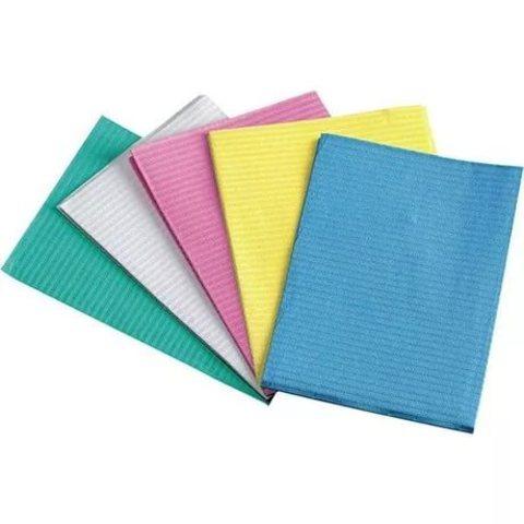 Стоматологические ламинированные салфетки (бумага + полиэтилен) 125шт.