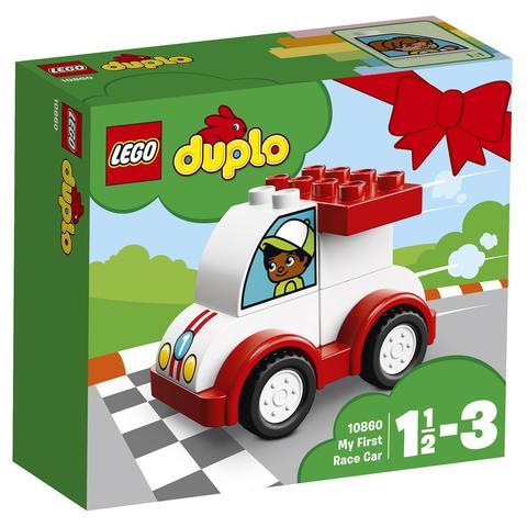 LEGO Duplo: Мой первый гоночный автомобиль 10860 — My First Race Car — Лего Дупло