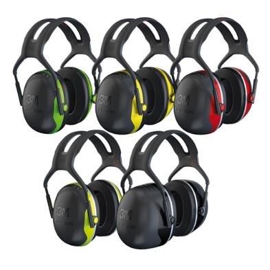 Пассивные наушники Earmuffs X X4, стандартное оголовье, чёрно-красные чашки