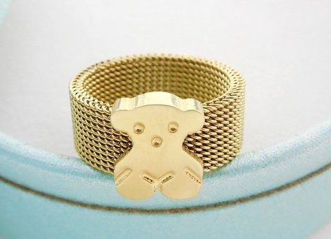 Кольцо  Mesh Gold