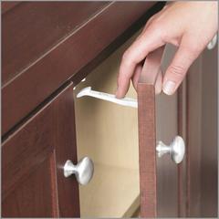 Блокиратор открывания распашной дверцы шкафа Safety 1st, 7шт/уп.