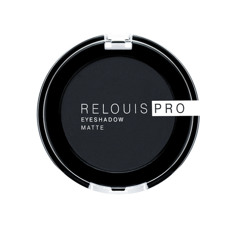 Тени для век Relouis Pro Eyeshadow Matte тон 17 Carbon