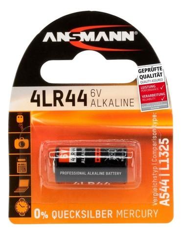 Батарейка 4LR44 ANSMANN 6V