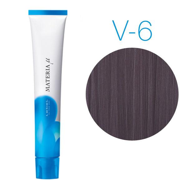 Lebel Materia Lifer V-6 (тёмный блондин фиолетовый) - Тонирующая краска для волос