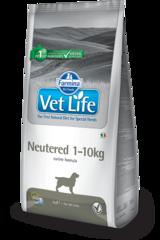 Корм для собак до 10 кг FARMINA Vet Life Neutered для стерилизованных/кастрированных