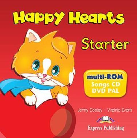 Happy Hearts Starter. Multi-Rom Pal (International). CD с песнями и видео