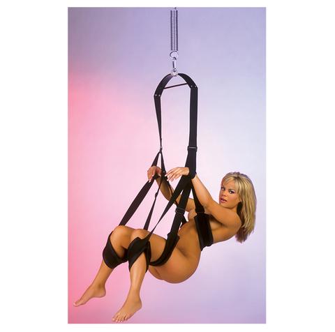 Секс-качели Fetish Fantasy Series Fantasy Swing, цвет черный фото