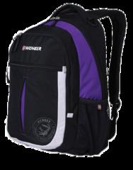 Рюкзак Wenger Montreux черный/пурпур