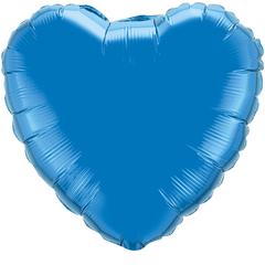 F 32 Сердце синий / 1 шт. /
