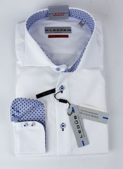 Рубашка Ledub slim fit 0135626_910-150-130-SF-White