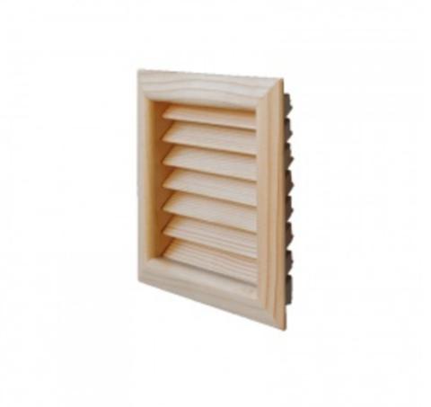 Деревянная решетка First LGES160T тик 160х160