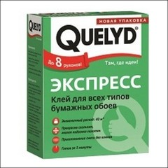 Клей для обоев QUELYD Экспресс (прозрачный)