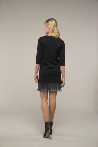 Платье 09020 черный