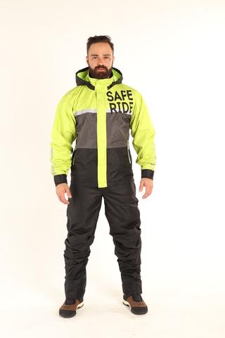 Starks, Дождевая куртка STARKS Dry Rain DR 219 MAN (Серо-Салатовый)