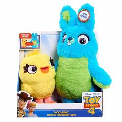 Мягкие игрушки Заяц Банни и Утёнок Дакки (Ducky & Bunny) - История Игрушек 4, Just Play