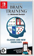 NS: Dr Kawashima's Brain Training for Nintendo Switch (английская версия)