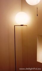 торшер Flos iC F2 Brass Floor Light