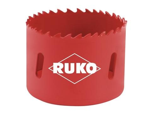 Коронка биметаллическая Ruko Bi-Metall HSS 4-6tpi 210мм L=38мм 106200