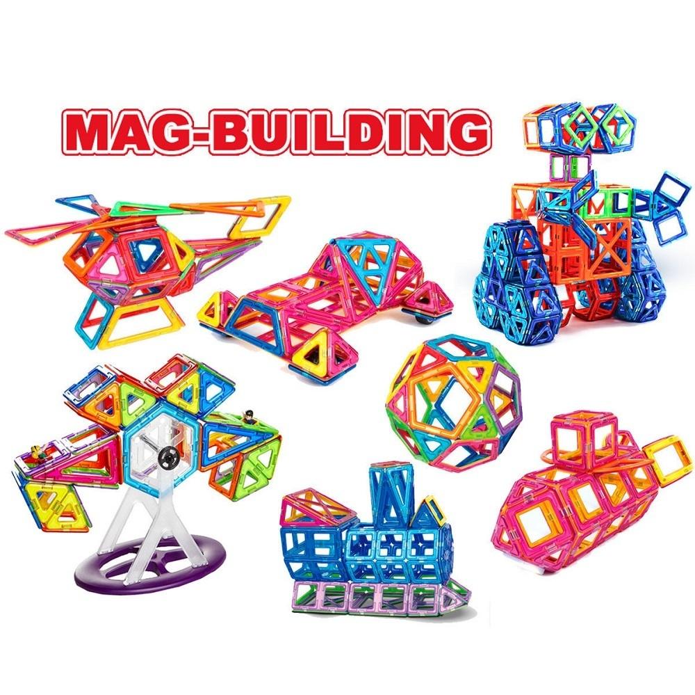 Новинки Магнитный конструктор Mag Building 138 деталей mag-building-3.jpg