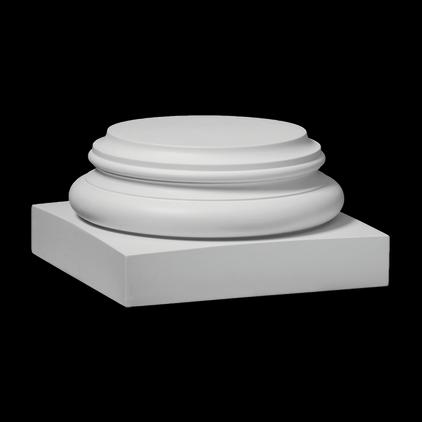База (колонна) Европласт из полиуретана 1.13.700, интернет магазин Волео