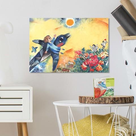 Картина «На встречу к солнцу» 40х60см или 60х90см