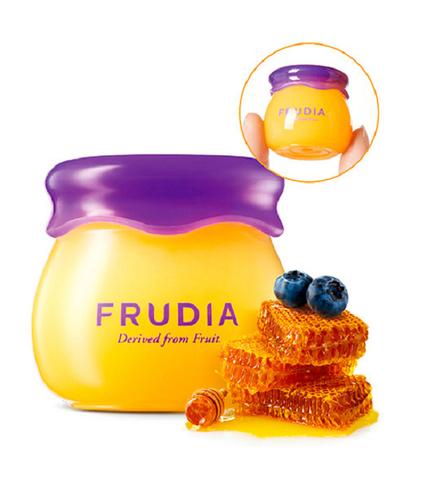 Увлажняющий бальзам для губ с черникой Frudia Blueberry Hydrating Honey Lip Balm, 10 мл