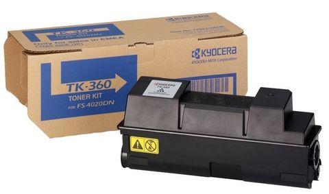 Kyocera TK-360 - тонер-картридж для принтеров и МФУ Kyocera FS-4020DN. Ресурс 20000 страниц.