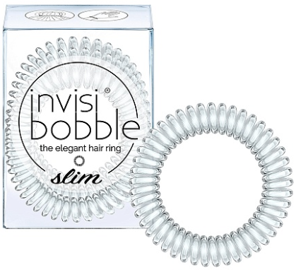 Invisibobble SLIM Crystal Clear резинка для волос