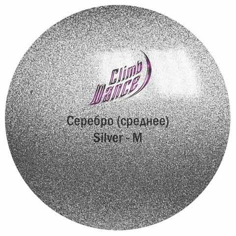 Краска Металлик Climp Dance Silver Medium / Серебро Среднее, 50 мл